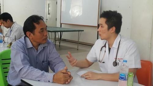 มรภ.นศ. จัดกิจกรรมการตรวจสุขภาพประจำปี 2561