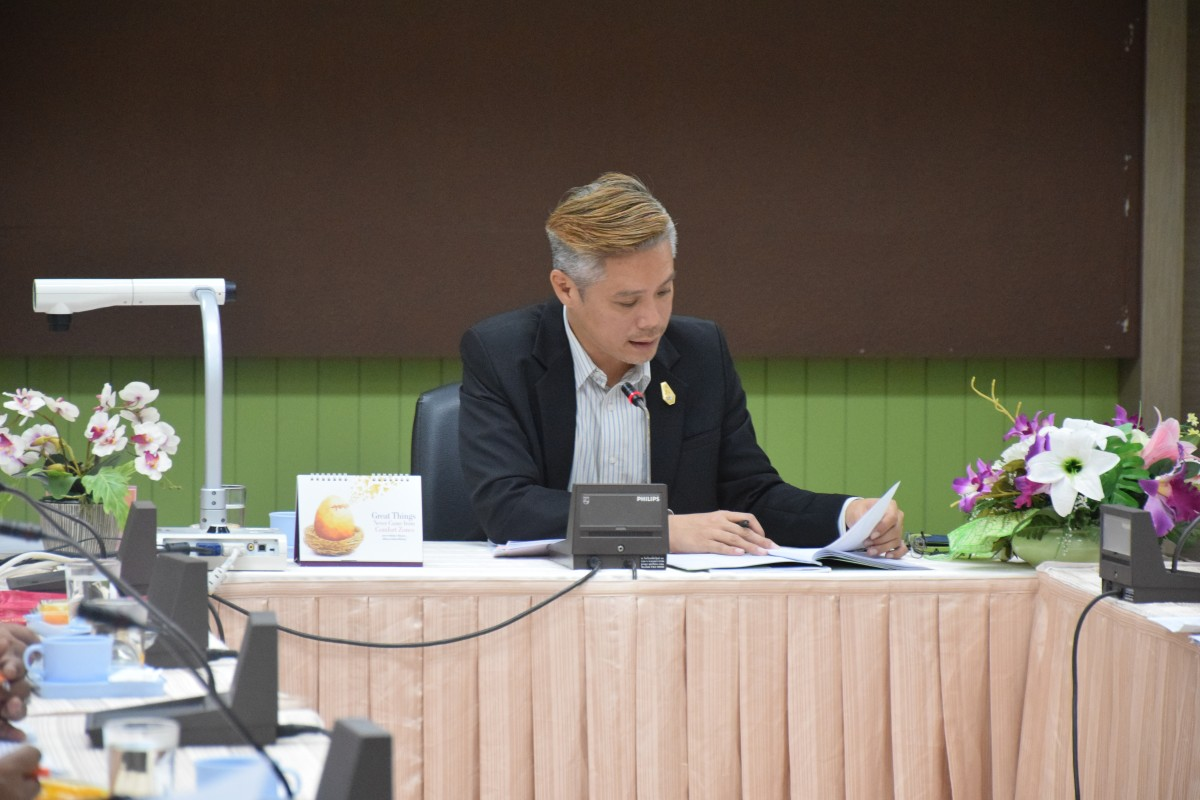 มรภ.นศ. จัดการประชุมการจัดทำรายงานการประเมินคุณธรรมและความโปร่งใส (ITA)-10