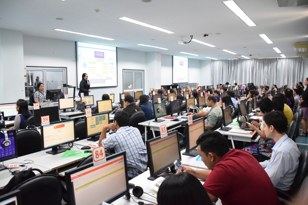 ส่วนมาตรฐานฯ จัดอบรมเชิงปฏิบัติการการใช้งานระบบฐานข้อมูลด้านการประกันคุณภาพ (CHE QA Online) ประจำปีการศึกษา 2561-5