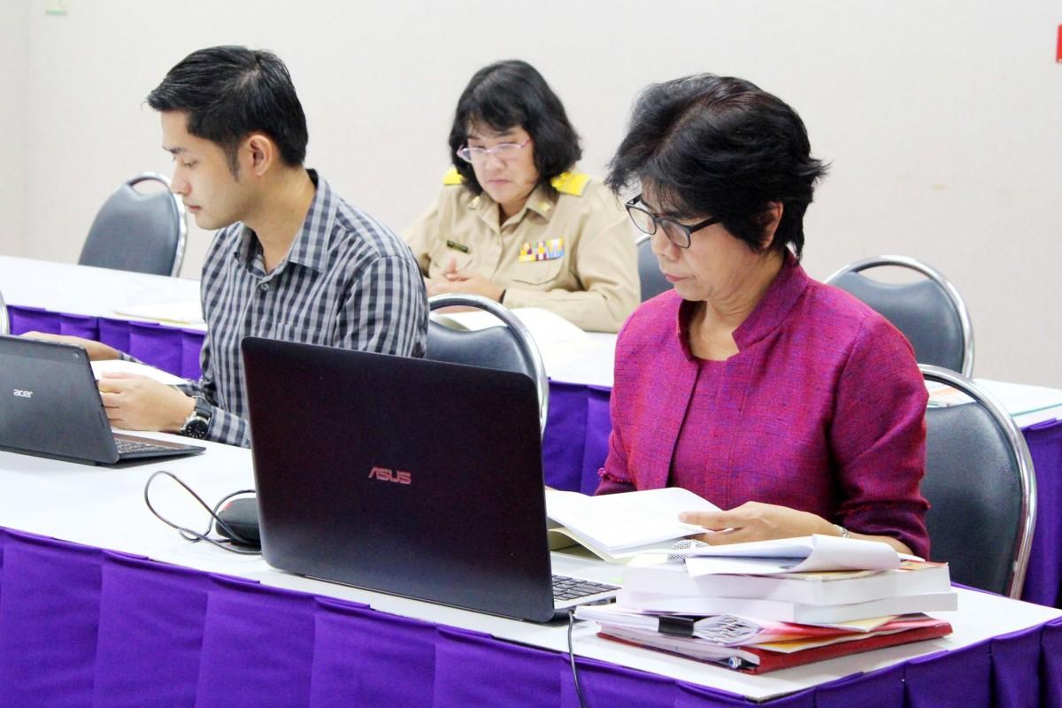คณะวิทย์ฯ รับการตรวจประกันระดับคณะ ปีการศึกษา 2560-9
