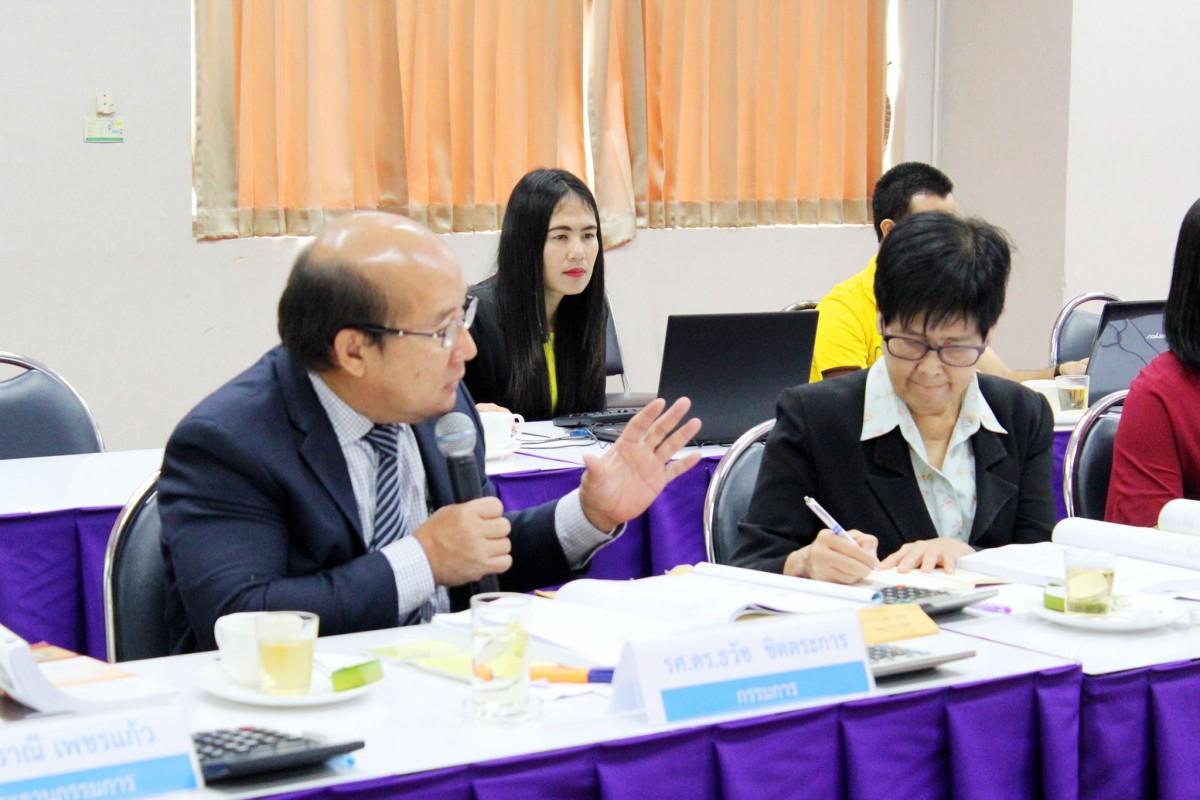 คณะวิทย์ฯ รับการตรวจประกันระดับคณะ ปีการศึกษา 2560-11