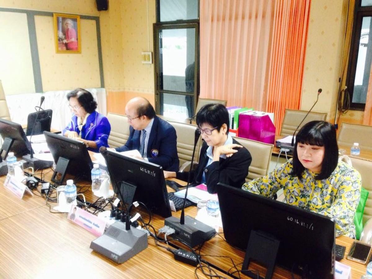คณะเทคโนฯ รับการตรวจประกันระดับคณะ ปีการศึกษา 2560-0