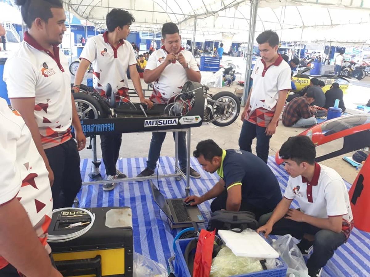 วิศวเครื่องกล  คว้ารางวัลชนะเลิศลำดับที่ 5 การแข่งขัน Honda ECO Mileage Challenge ปีที่ 21 ประจำปี พ.ศ. 2561-1