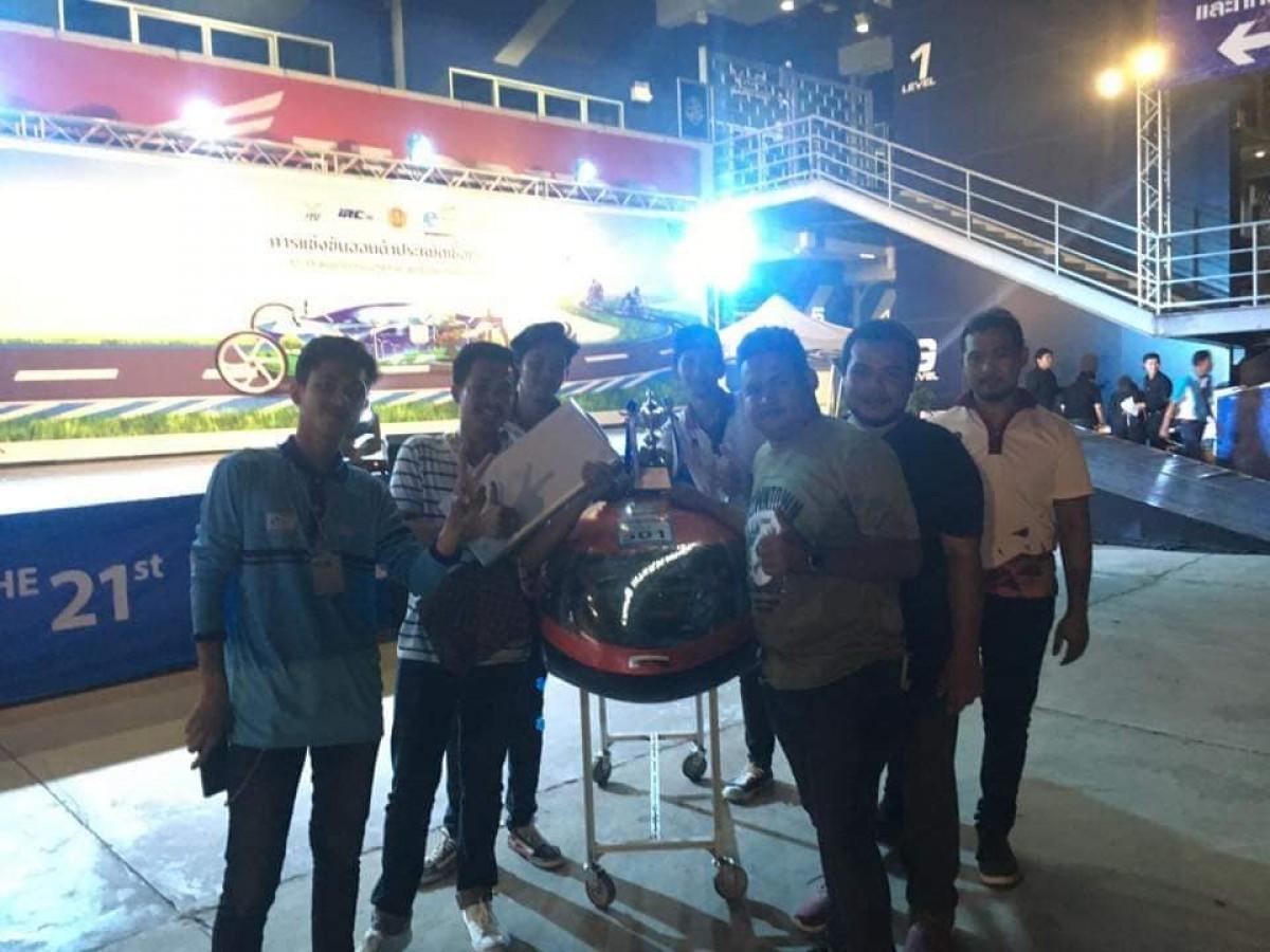 วิศวเครื่องกล  คว้ารางวัลชนะเลิศลำดับที่ 5 การแข่งขัน Honda ECO Mileage Challenge ปีที่ 21 ประจำปี พ.ศ. 2561-5