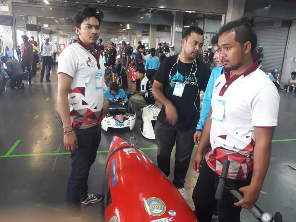 วิศวเครื่องกล  คว้ารางวัลชนะเลิศลำดับที่ 5 การแข่งขัน Honda ECO Mileage Challenge ปีที่ 21 ประจำปี พ.ศ. 2561-3