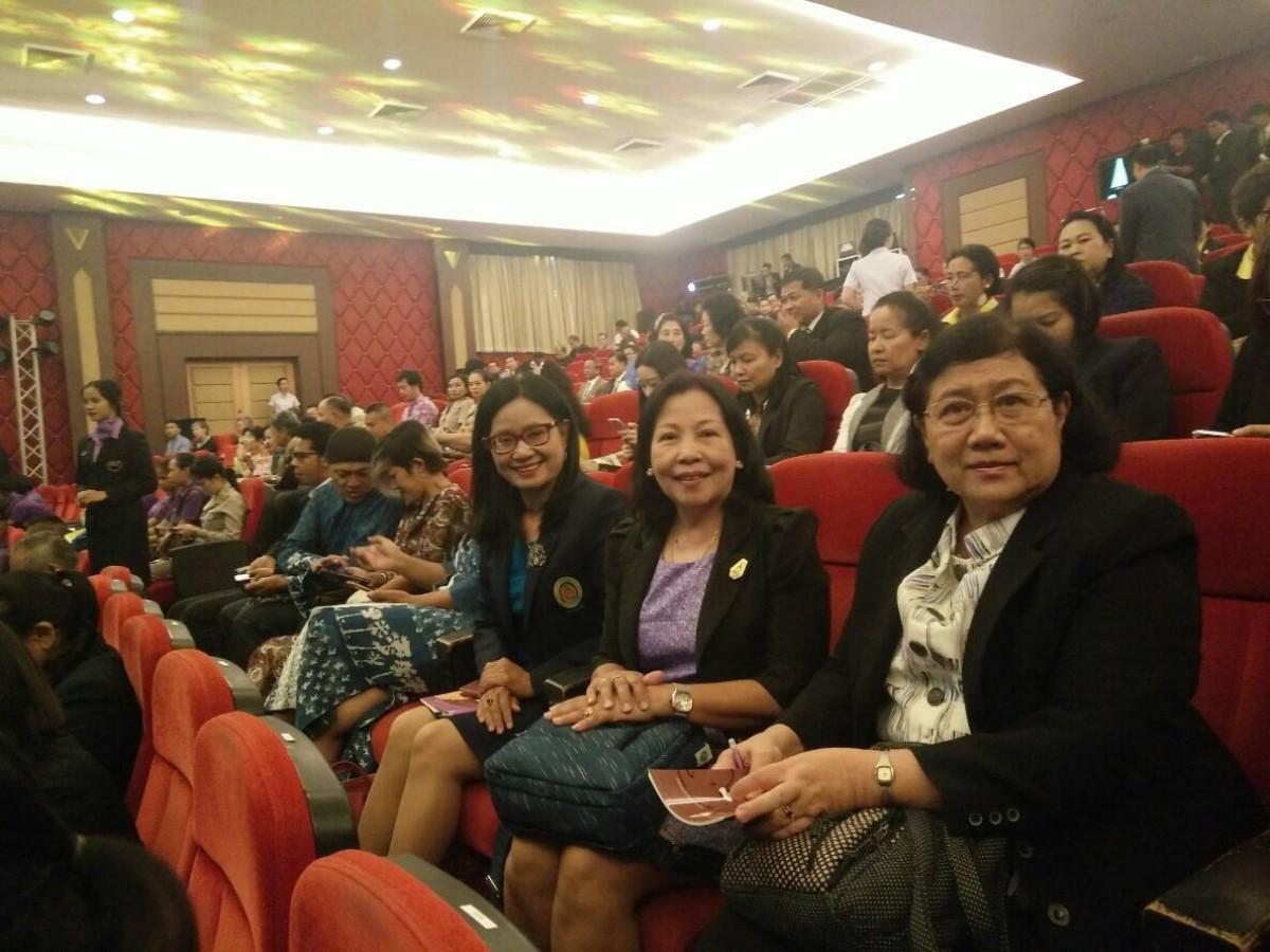 ผู้บริหาร มรภ.นศ. ร่วมพิธีเปิดการประชุมวิชาการระดับชาติและนานาชาติ ราชภัฏวิจัย ครั้งที่ 5 ณ มหาวิทยาลัยราชภัฏเพชรบุรี-7