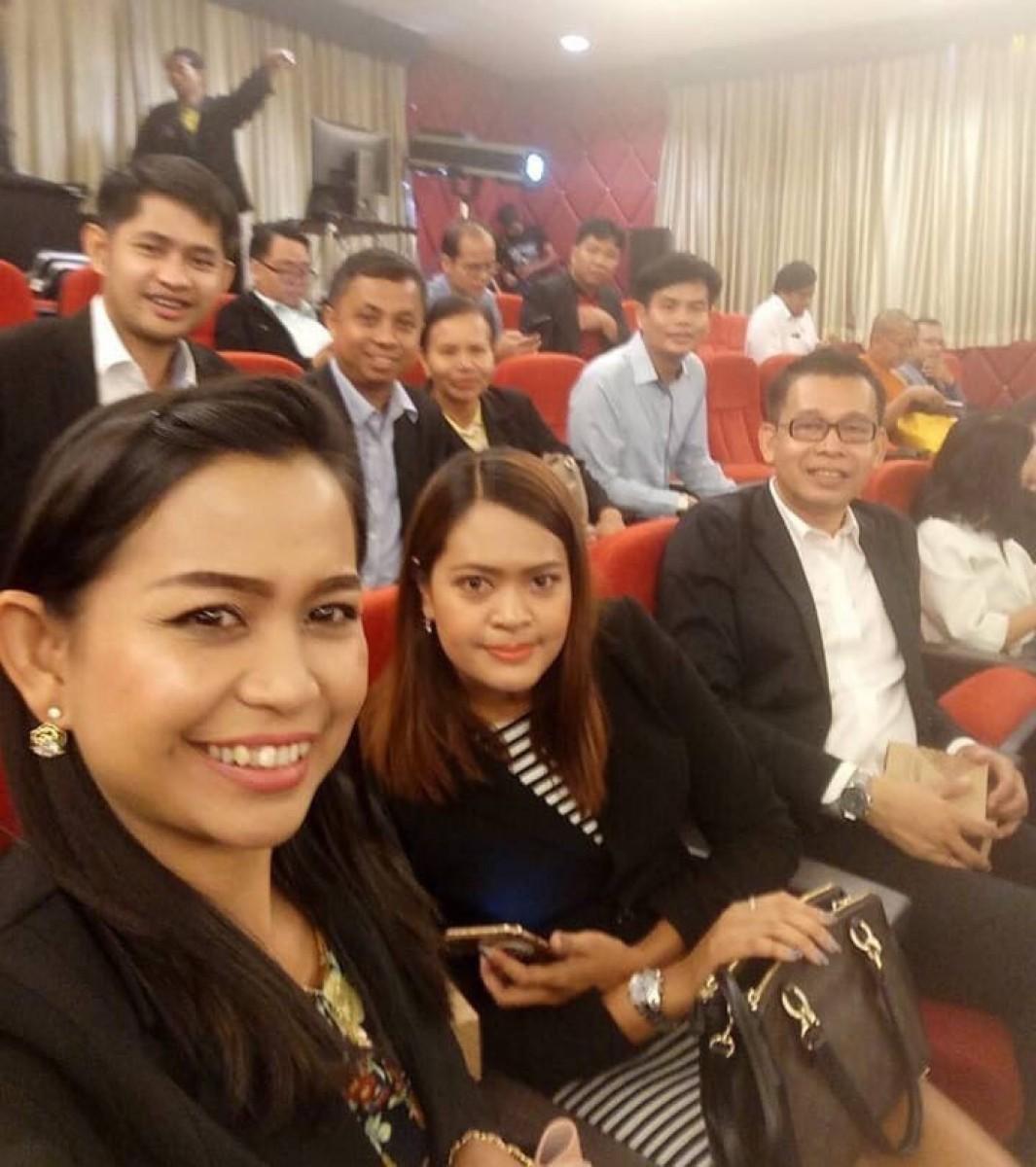 ผู้บริหาร มรภ.นศ. ร่วมพิธีเปิดการประชุมวิชาการระดับชาติและนานาชาติ ราชภัฏวิจัย ครั้งที่ 5 ณ มหาวิทยาลัยราชภัฏเพชรบุรี-9