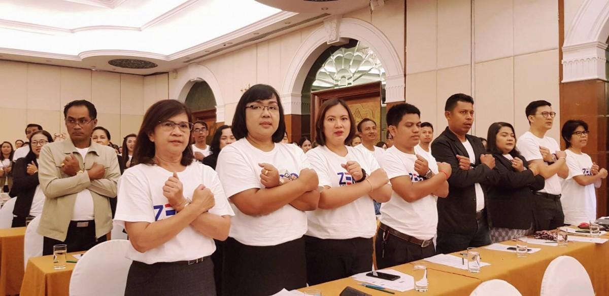 มรภ. นศ. ร่วมกิจกรรมวันต่อต้านคอร์รัปชันสากล (ประเทศไทย) จังหวัดนครศรีธรรมราช-1