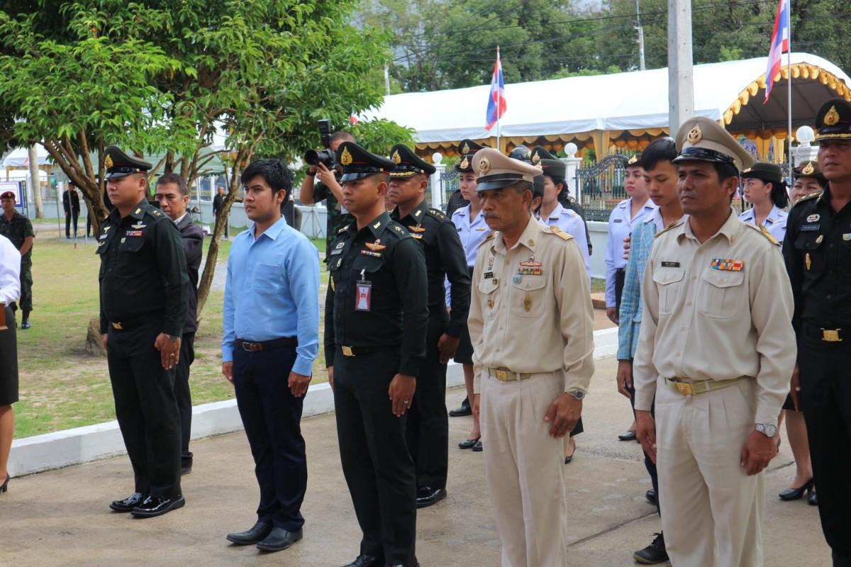 ม.ราชภัฏนครฯ ร่วมพิธีวันวีรไทย และคว้ารางวัลชนะเลิศพวงมาลา ประเภทสวยงาม ประจำปี 2561-4
