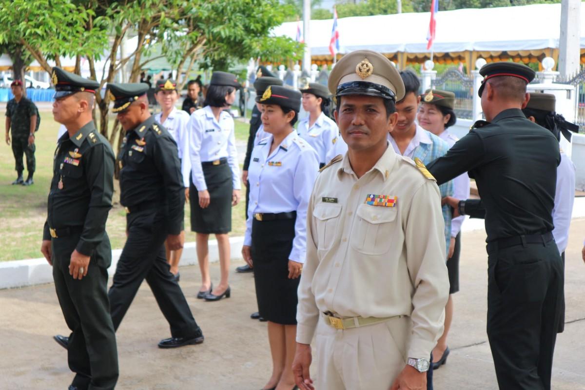 ม.ราชภัฏนครฯ ร่วมพิธีวันวีรไทย และคว้ารางวัลชนะเลิศพวงมาลา ประเภทสวยงาม ประจำปี 2561-11