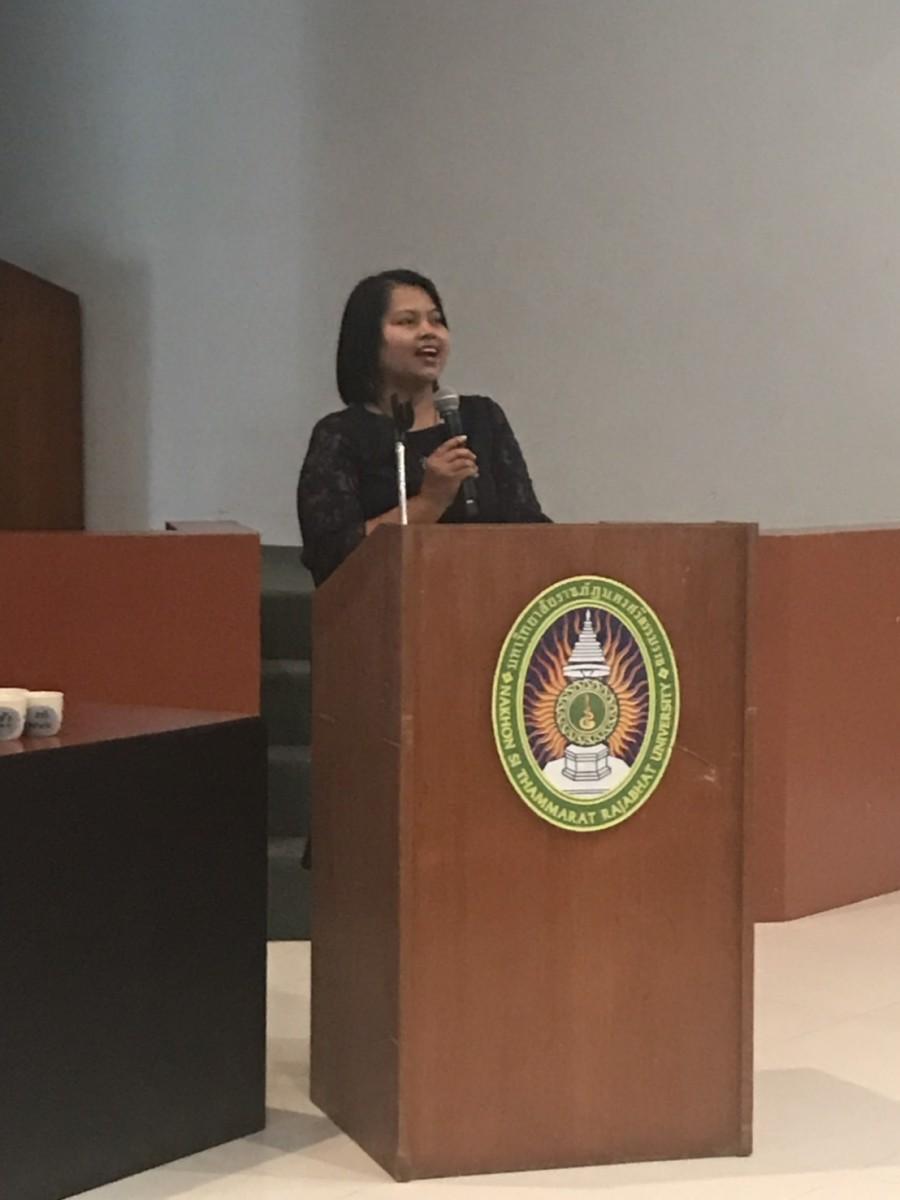 สำนักงานคดีค้ามนุษย์ จัดอบรมนักศึกษา มรภ. นศ. โครงการอบรมให้ความรู้ให้กับนักเรียนนักศึกษาเพื่อหยุดการค้ามนุษย์ในรูปแบบการแสวงหาประโยชน์ทางเพศ-5