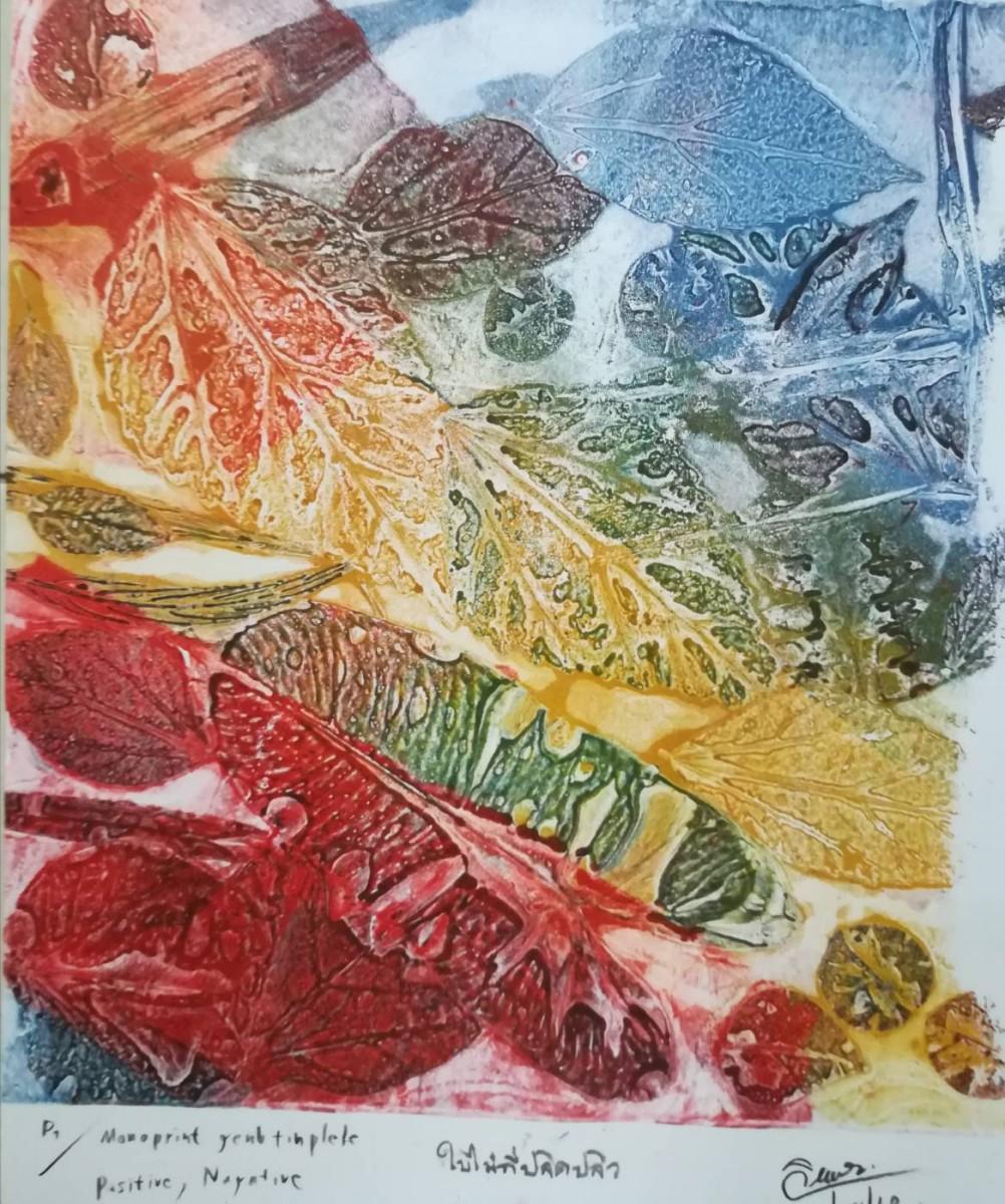 สาขาวิชาศิลปศึกษา คณะครุศาสตร์ จัดอบรมกิจกรรมพัฒนาทักษะภาพพิมพ์ด้วยเทคนิคแท่นพิมพ์เจลาติน-7