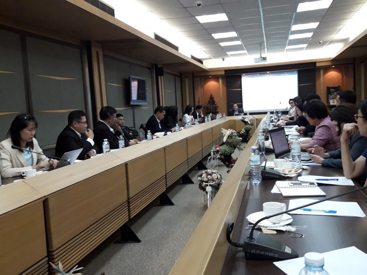 มรภ.นศ. เข้าร่วมประชุมคณะทำงานด้านการบริหารจัดการด้านการพัฒนาท้องถิ่น ยุทธศาสตร์มหาวิทยาลัยราชภัฏเพื่อการพัฒนาท้องถิ่น ตามพระราโชบาย-3