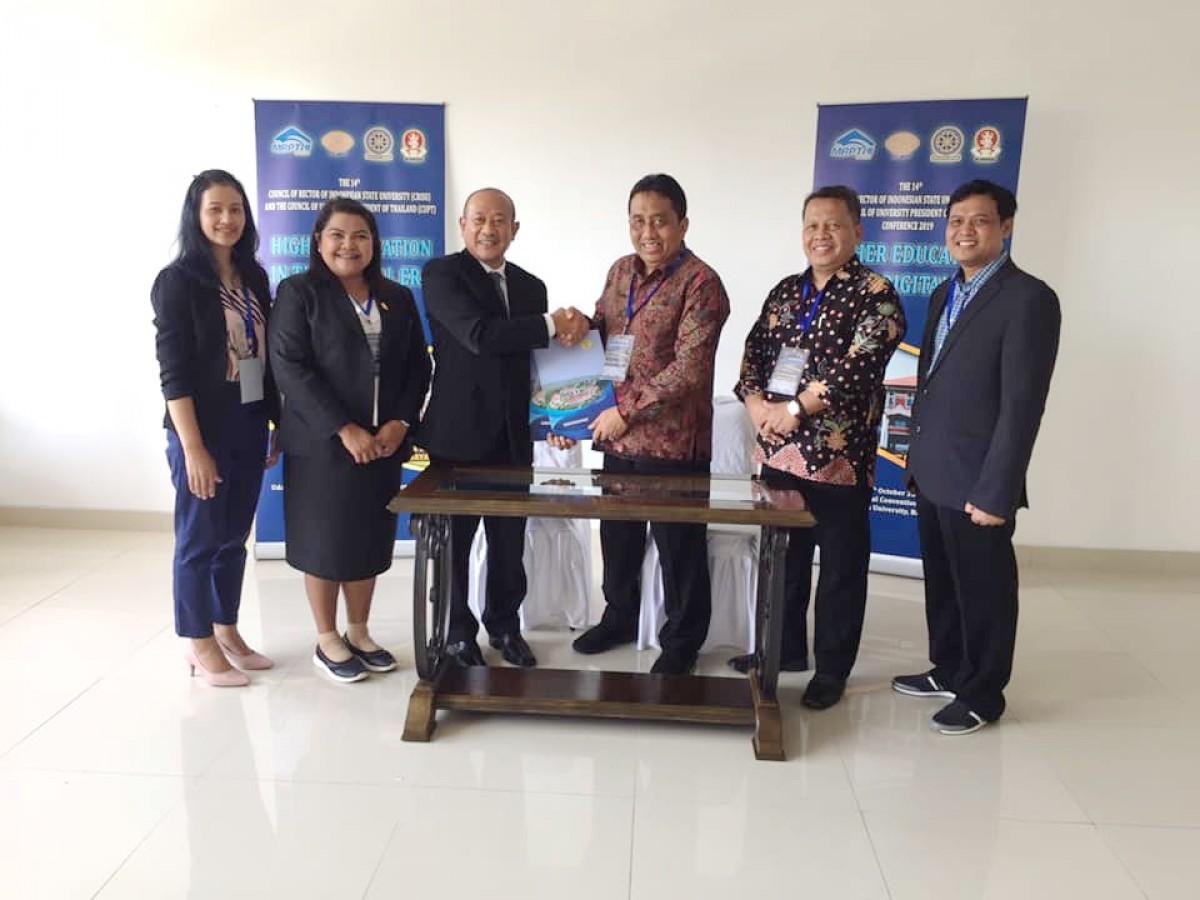 อธิการบดี มรภ.นศ. ร่วมประชุมความร่วมมือไทย-อินโดนีเซีย ครั้งที่ 14 (14th CRISU-CUPT Conference)-3