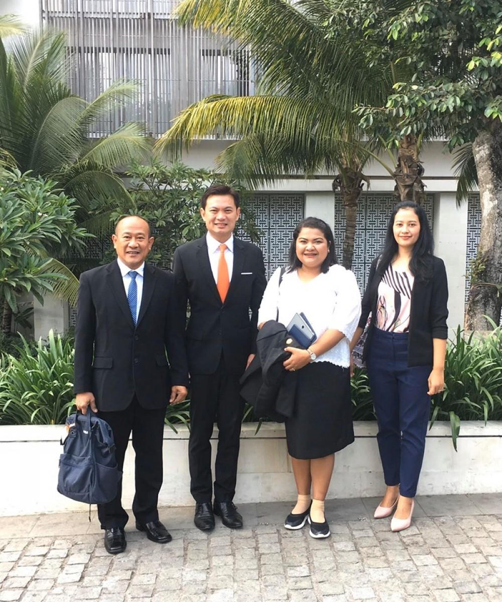 อธิการบดี มรภ.นศ. ร่วมประชุมความร่วมมือไทย-อินโดนีเซีย ครั้งที่ 14 (14th CRISU-CUPT Conference)-4