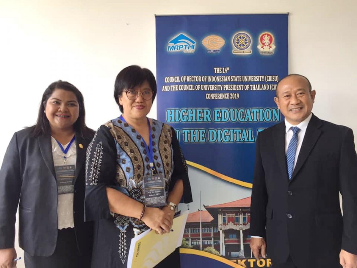อธิการบดี มรภ.นศ. ร่วมประชุมความร่วมมือไทย-อินโดนีเซีย ครั้งที่ 14 (14th CRISU-CUPT Conference)-0