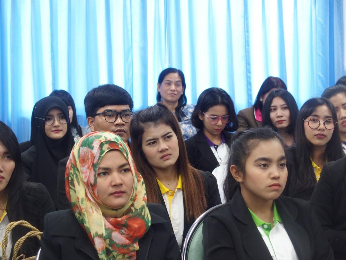 รร.สาธิต มรภ.นศ. ให้การต้อนรับคณะศึกษาดูงาน นักศึกษาหลักสูตรประกาศนียบัตรบัณฑิตวิชาชีพครู รุ่น 2562 มหาวิทยาลัยหาดใหญ่-2