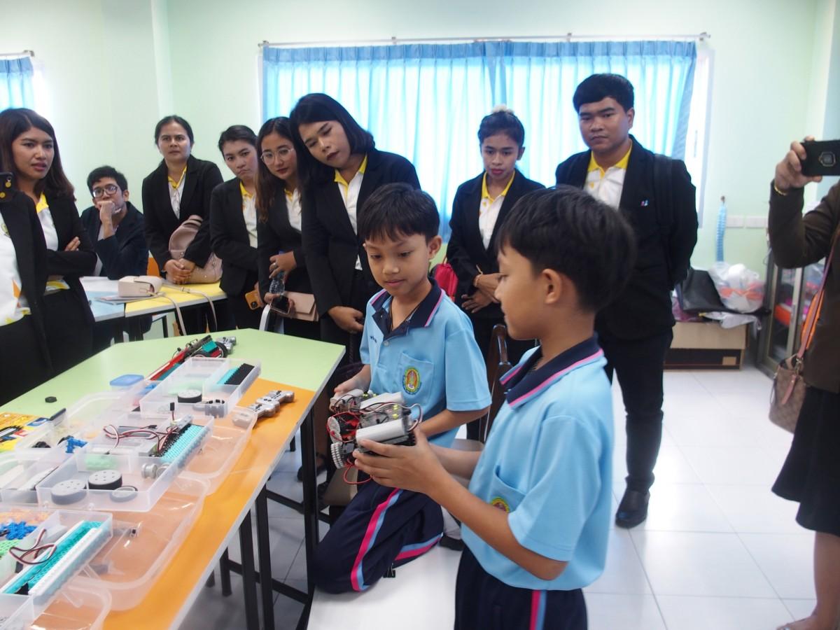 รร.สาธิต มรภ.นศ. ให้การต้อนรับคณะศึกษาดูงาน นักศึกษาหลักสูตรประกาศนียบัตรบัณฑิตวิชาชีพครู รุ่น 2562 มหาวิทยาลัยหาดใหญ่-0