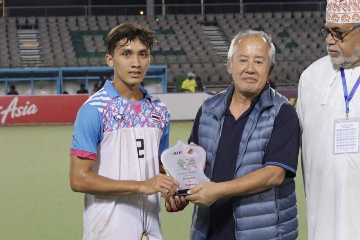 นักศึกษา ม.ราชภัฏนครฯ ได้รับรางวัลนักกีฬายอดเยี่ยม ในการแข่งขันรายการ Men's Hockey Junior AHF Cup ประเทศโอมาน-4
