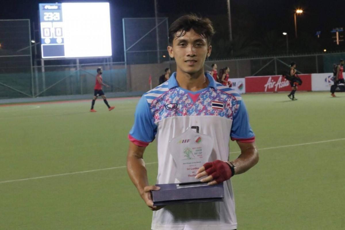 นักศึกษา ม.ราชภัฏนครฯ ได้รับรางวัลนักกีฬายอดเยี่ยม ในการแข่งขันรายการ Men's Hockey Junior AHF Cup ประเทศโอมาน-5