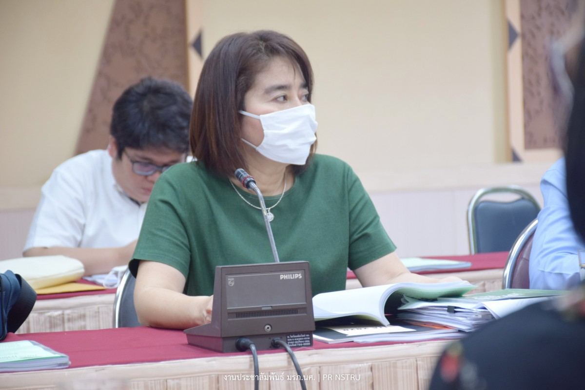 มรภ. นศ. จัดการประชุมคณะกรรมการรับการประเมินคุณธรรมและความโปร่งใสในการดำเนินงานของมหาวิทยาลัย (ITA) ประจำปีงบประมาณ 2563 ครั้งที่ 1/2563  วันพุธที่ 18-5