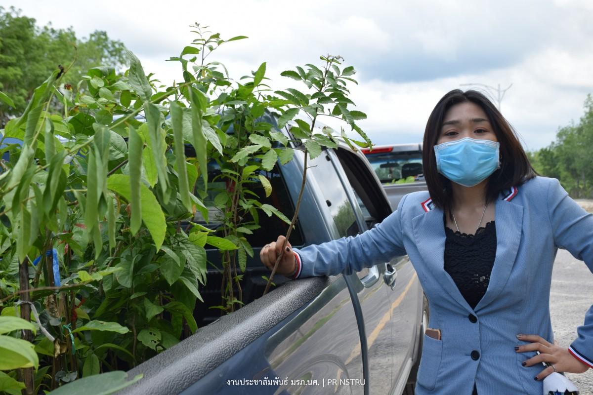 ม.ราชภัฏนครฯ แจกพันธุ์พืชผักเพื่อเลี้ยงชีพช่วย เหลือชาวชุมชนท่างิ้วในสถานการณ์ COVID-19-3