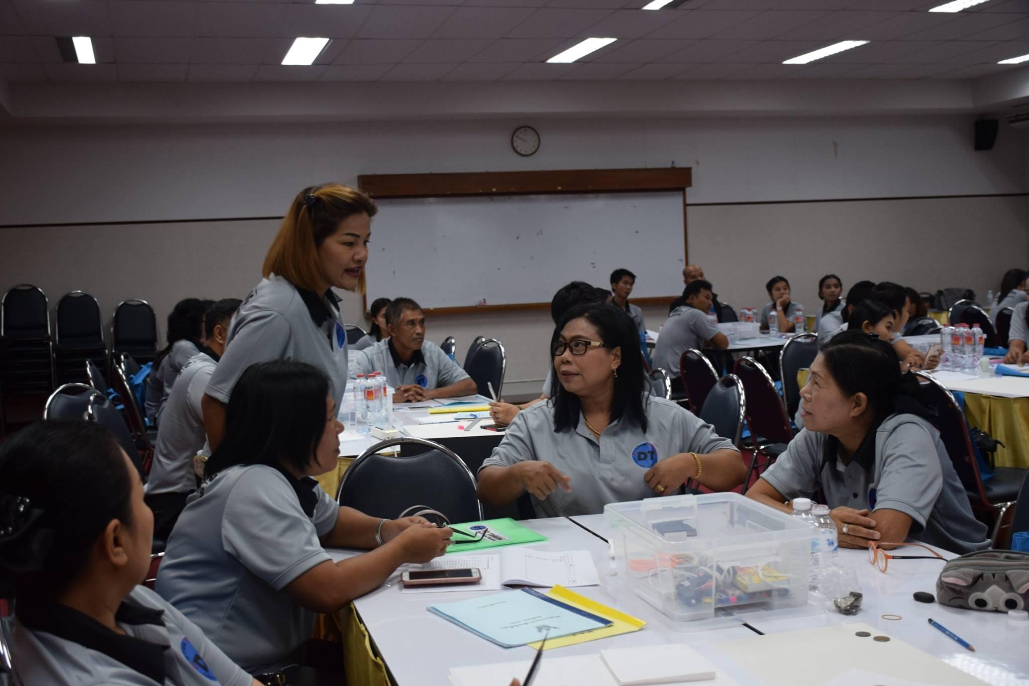 เทคโนฯ ร่วมจัดอบรมโครงการพัฒนาครู-4