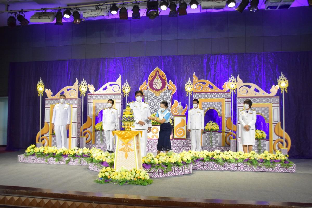 ม.ราชภัฏนครฯ บันทึกเทปถวายพระพรเนื่องในวันเฉลิมพระชนมพรรษาสมเด็จพระนางเจ้าสุทิดา พัชรสุธาพิมลลักษณ พระบรมราชินี ประจำปี 2564-4