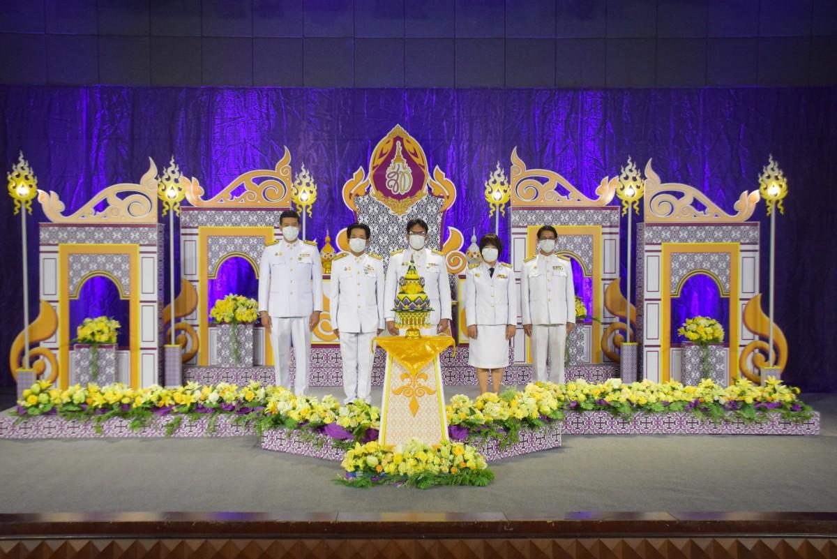 ม.ราชภัฏนครฯ บันทึกเทปถวายพระพรเนื่องในวันเฉลิมพระชนมพรรษาสมเด็จพระนางเจ้าสุทิดา พัชรสุธาพิมลลักษณ พระบรมราชินี ประจำปี 2564-10