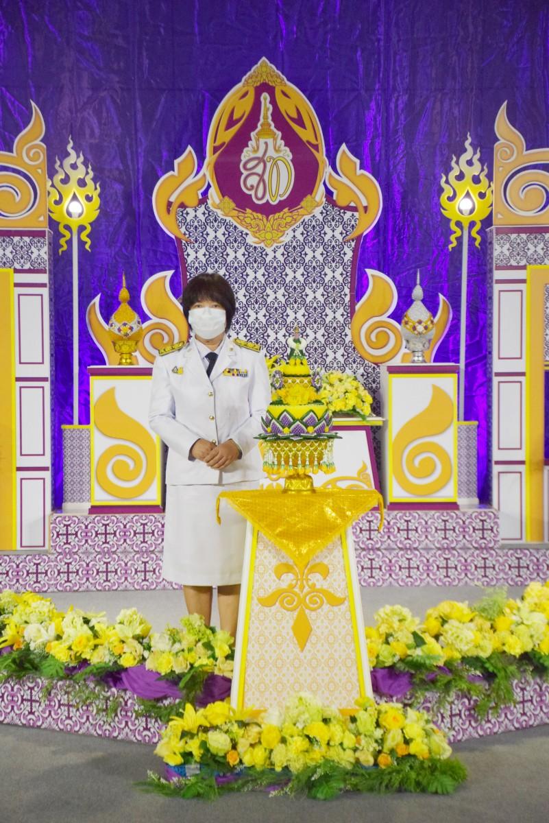 ม.ราชภัฏนครฯ บันทึกเทปถวายพระพรเนื่องในวันเฉลิมพระชนมพรรษาสมเด็จพระนางเจ้าสุทิดา พัชรสุธาพิมลลักษณ พระบรมราชินี ประจำปี 2564-5