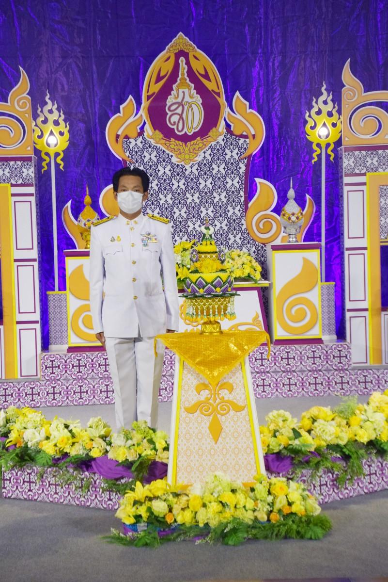 ม.ราชภัฏนครฯ บันทึกเทปถวายพระพรเนื่องในวันเฉลิมพระชนมพรรษาสมเด็จพระนางเจ้าสุทิดา พัชรสุธาพิมลลักษณ พระบรมราชินี ประจำปี 2564-6