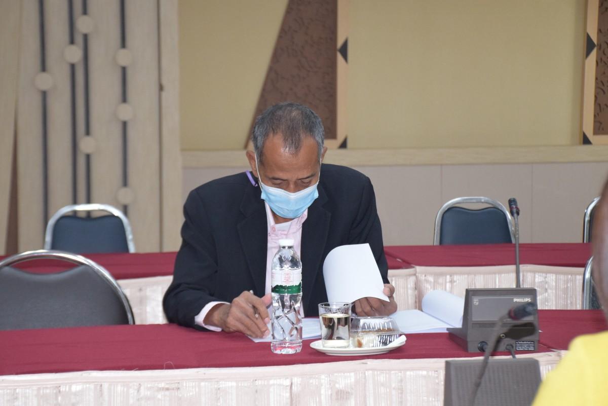 การประชุมคณะกรรมการกลั่นกรองกฎ ระเบียบ ประกาศ และข้อบังคับของมหาวิทยาลัย ครั้งที่ 7/2564-3