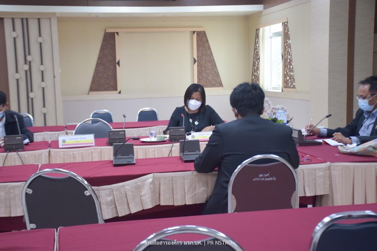 การประชุมคณะกรรมการประเมินเพื่อแต่งตั้งบุคคลให้ดำรงตำแหน่งสูงขึ้นประจำมหาวิทยาลัย ครั้งที่ 4/2564-3