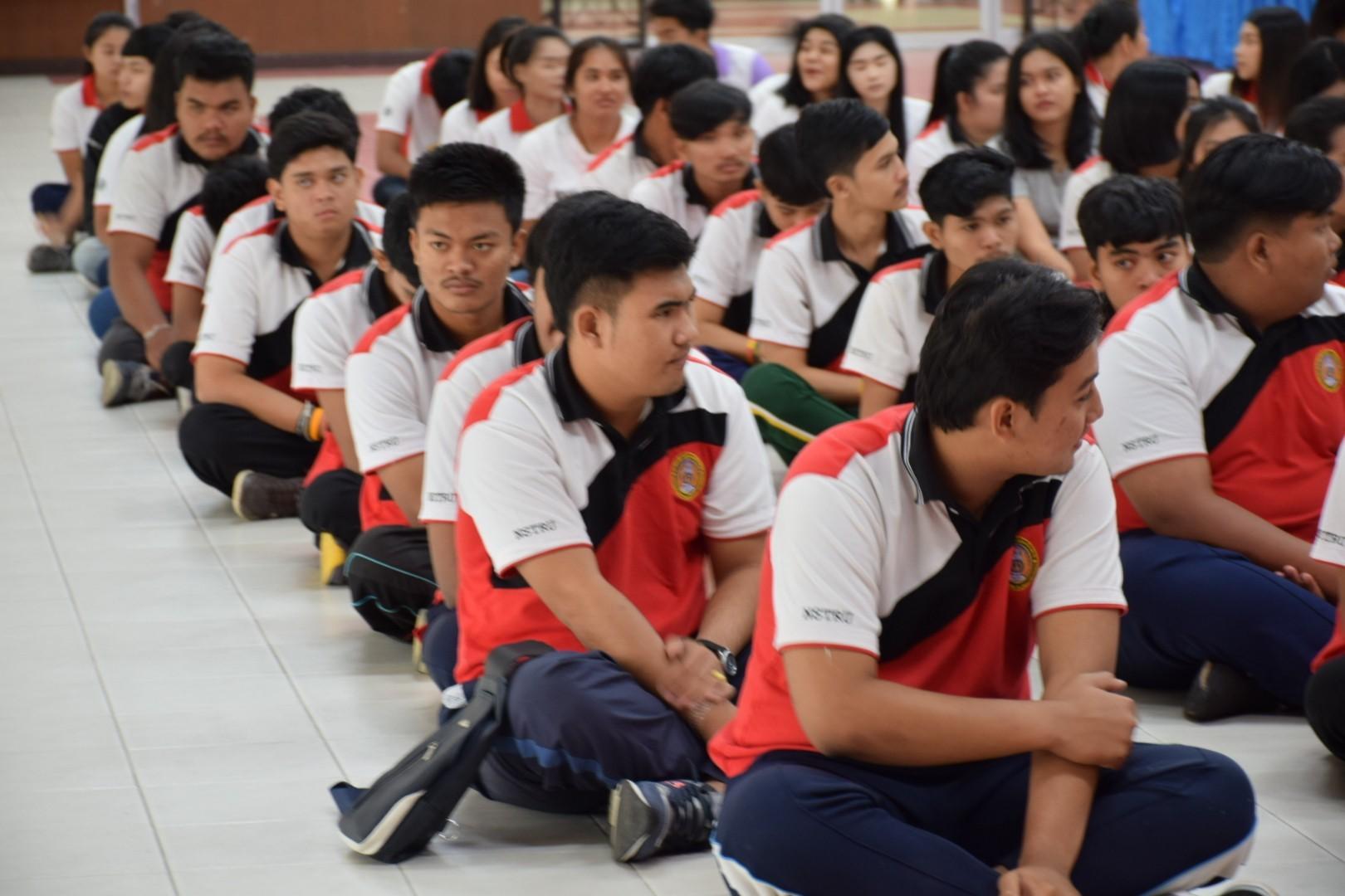 รปศ.ท้องถิ่นจัดโครงการส่งเสริมการเรียนรู้และพัฒนาภาวะความเป็นผู้นำให้แก่นักศึกษาชั้นปีที่ 1-9