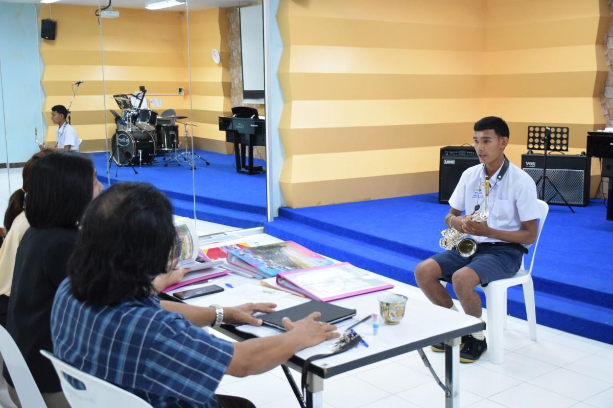 มรภ.นศ. จัดสอบสัมภาษณ์นักศึกษาภาคปกติ รอบที่ 1 Portfolio ครั้งที่ 1/2-7