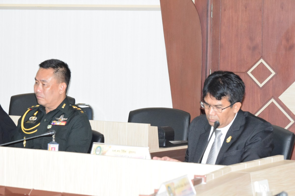 ม.ราชภัฏนครฯ จัดประชุมกรรมการส่งเสริมกิจการมหาวิทยาลัย ครั้งที่ 1/2561-2