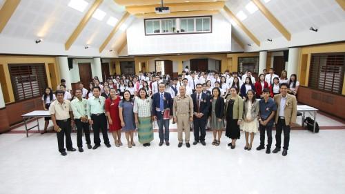 """สาขาพัฒนาชุมชน จัดสัมมนาการพัฒนาชุมชนท้องถิ่น  """"ศาสตร์พระราชา พลังปัญญา พัฒนาชุมชนไทยในยุค 4.0"""""""