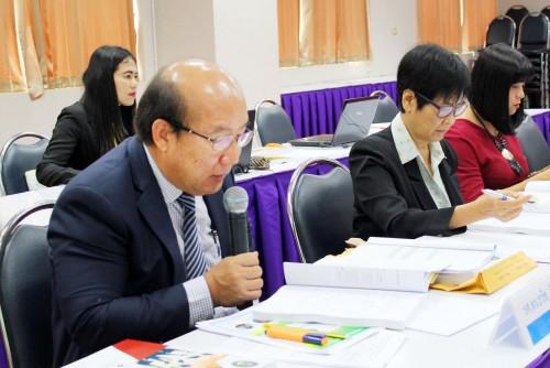 คณะวิทย์ฯ รับการตรวจประกันระดับคณะ ปีการศึกษา 2560