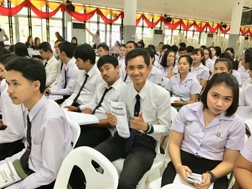 คณะครุศาสตร์ จัดโครงการปฐมนิเทศนักศึกษาก่อนออกปฏิบัติการวิชาชีพครูในสถานศึกษา ภาคเรียนที่ 2/2562