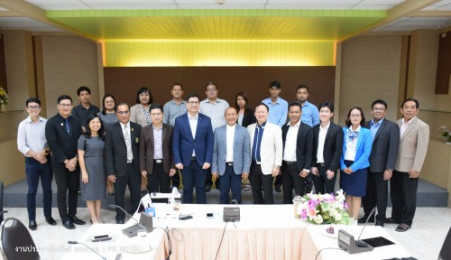 ผู้บริหาร ม.ราชภัฏนครฯ และ ตัวแทนจากธนาคารกรุงไทย ร่วมประชุมขับเคลื่อนโครงการ Smart University