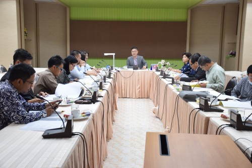 ม.ราชภัฏนครฯ จัดการประชุมคณะกรรมการวางแผนการดำเนินงานโครงการวันราชภัฏวิชาการ  2562