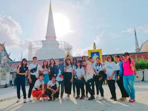 หน่วยวิเทศสัมพันธ์ จัด One Day Trip แก่ น.ศ.โครงการ SEA-Teacher ครั้งที่ 7 จากประเทศฟิลิปปินส์และอินโดนีเซีย และ น.ศ.เอกภาษาอังกฤษ คณะครุศาสตร์