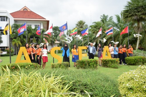 NSTRU President welcomes a group of SEA-Teacher Students from Philippines and Indonesia to NSTRU