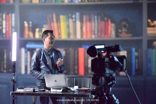 หลักสูตรนิเทศศาสตร์ คณะวิทยาการจัดการ จัดกิจกรรม การสร้างสถานีโทรทัศน์ออนไลน์