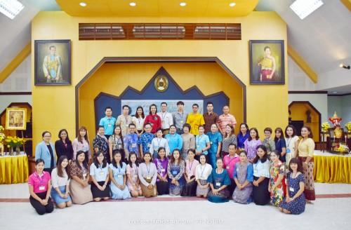 วิทยาลัยศิลปะและวัฒนธรรม มรภ. นศ. จัดโครงการอบรมเชิงปฏิบัติการนาฏศิลป์ไทย ประจำปี 2562