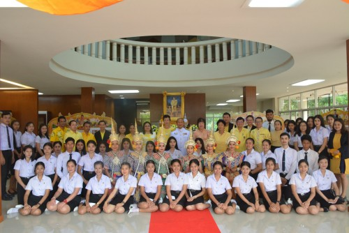 NSTRU opens Arts and Culture Exhibition – glorification of the King Rama 10