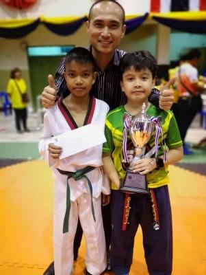 Satit NSTRU Student sweeps 4 awards at the Nakhon Si Thammarat Taekwondo 2019 Open Championship