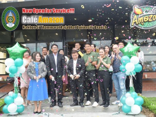 Now open for service, Caf? Amazon, Nakhon Si Thammarat Rajabhat University branch