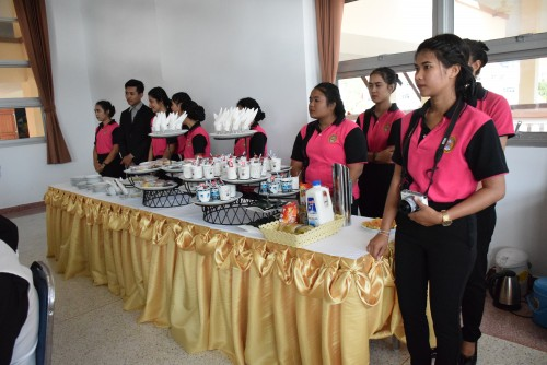 Table Setting and Food Service Competition