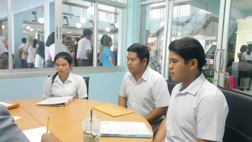 บรรยากาศการสอบสัมภาษณ์นักศึกษา ภาคปกติ ตามเกณฑ์การรับสมัครนักศึกษา ระบบ TCAS ปีการศึกษา 2561  รอบที่ 2   และการรายงานของตัวนักศึกษาภาคปกติคณะครุศาสตร์  ในโครงการผลิตครูเพื่อพัฒนาท้องถิ่น 61